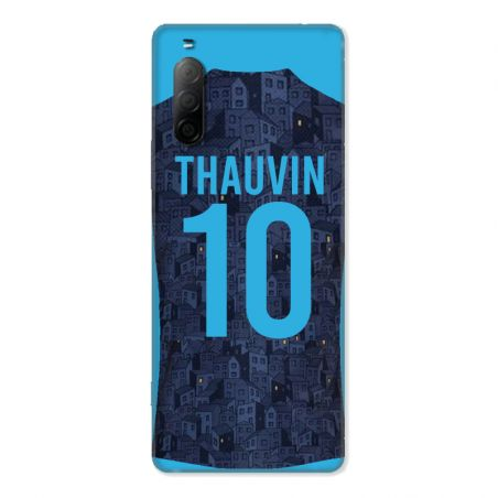 Coque Pour Sony Xperia 10 II Personnalisee Maillot Football Olympique Marseille Exterieur