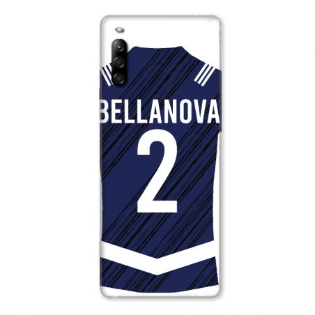 Coque Pour Sony Xperia L4 Personnalisee Maillot Footbal Girondins Bordeaux