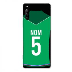 Coque Pour Sony Xperia L4 Personnalisee Maillot Football AS Saint Etienne