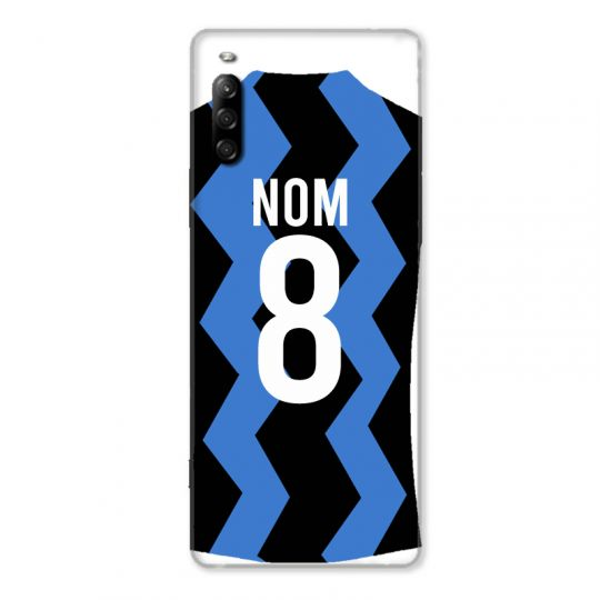 Coque Pour Sony Xperia L4 Personnalisee Maillot Football FC Inter Milan