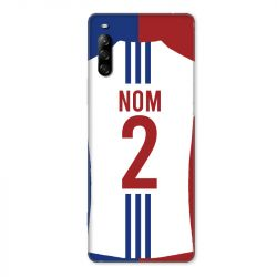 Coque Pour Sony Xperia L4 Personnalisee Maillot Football Olympique Lyonnais Domicile