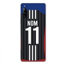 Coque Pour Sony Xperia L4 Personnalisee Maillot Football Olympique Lyonnais Exterieur
