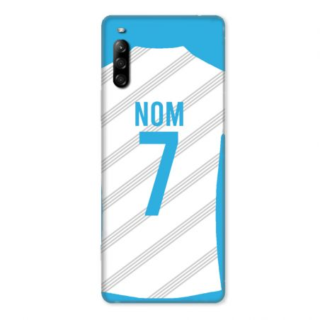 Coque Pour Sony Xperia L4 Personnalisee Maillot Football Olympique Marseille Domicile