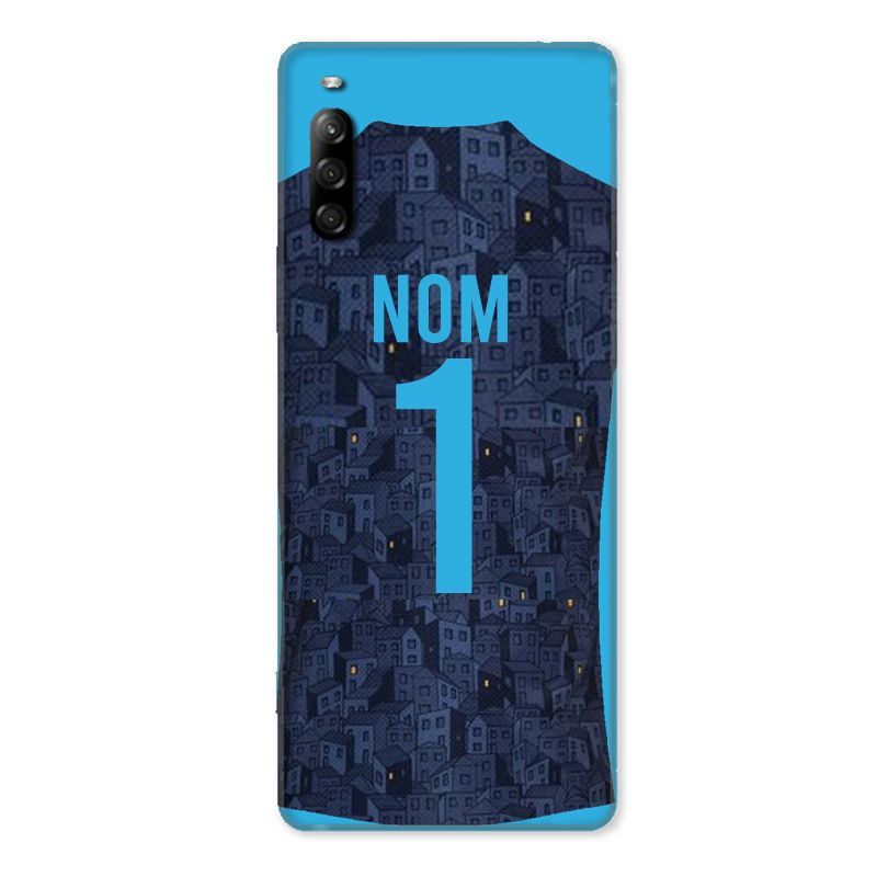Coque Pour Sony Xperia L4 Personnalisee Maillot Football Olympique Marseille Exterieur