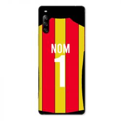 Coque Pour Sony Xperia L4 Personnalisee Maillot Football RC Lens