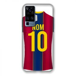 Coque Pour Vivo X51 Personnalisee Maillot Football FC Barcelone