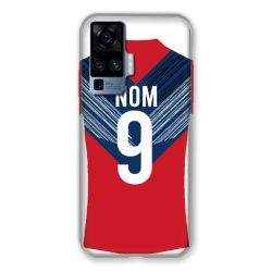 Coque Pour Vivo X51 Personnalisee Maillot Football LOSC Lille