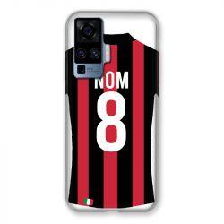 Coque Pour Vivo X51 Personnalisee Maillot Football Milan AC