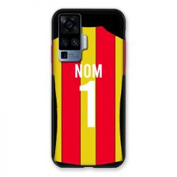 Coque Pour Vivo X51 Personnalisee Maillot Football RC Lens