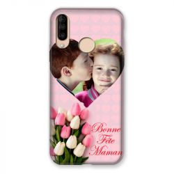 Coque Pour Wiko View 3 / View3 Personnalisee Fete Des Meres Coeurs Roses