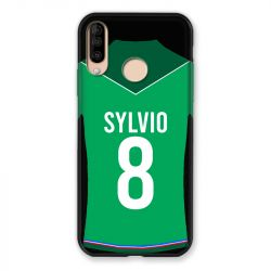 Coque Pour Wiko View 3 / View3 Personnalisee Maillot Football AS Saint Etienne