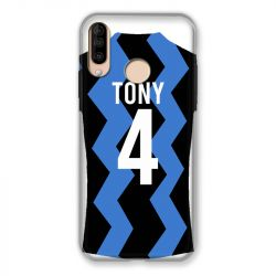 Coque Pour Wiko View 3 / View3 Personnalisee Maillot Football FC Inter Milan