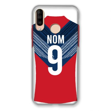 Coque Pour Wiko View 3 / View3 Personnalisee Maillot Football LOSC Lille