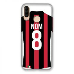 Coque Pour Wiko View 3 / View3 Personnalisee Maillot Football Milan AC