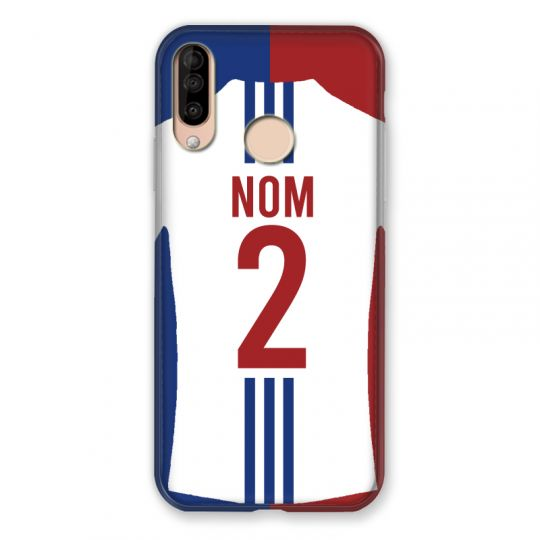 Coque Pour Wiko View 3 / View3 Personnalisee Maillot Football Olympique Lyonnais Domicile