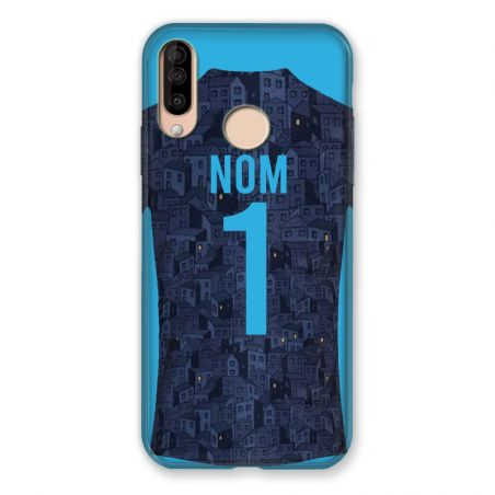 Coque Pour Wiko View 3 / View3 Personnalisee Maillot Football Olympique Marseille Exterieur