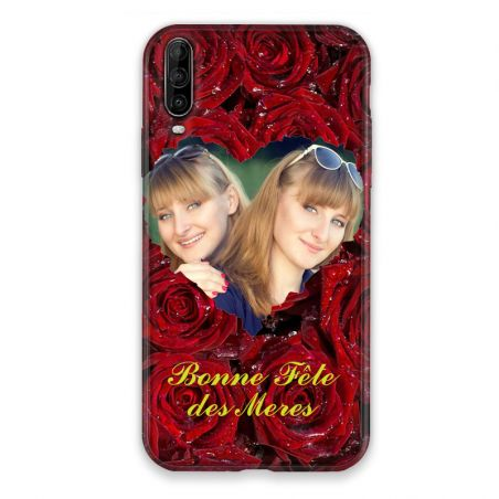 Coque Pour Wiko View 4 Personnalisee Fete Des Meres Roses Rouges