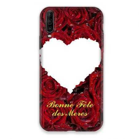 Coque Pour Wiko View 4 Lite Personnalisee Fete Des Meres Roses Rouges