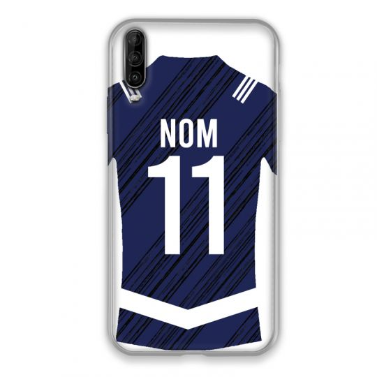 Coque Pour Wiko View 4 Personnalisee Maillot Footbal Girondins Bordeaux