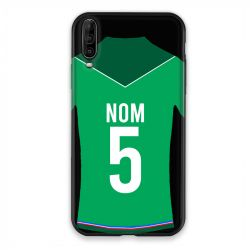 Coque Pour Wiko View 4 Personnalisee Maillot Football AS Saint Etienne