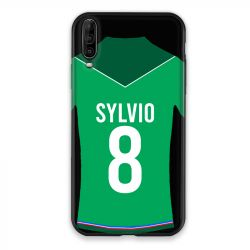 Coque Pour Wiko View 4 Lite Personnalisee Maillot Football AS Saint Etienne