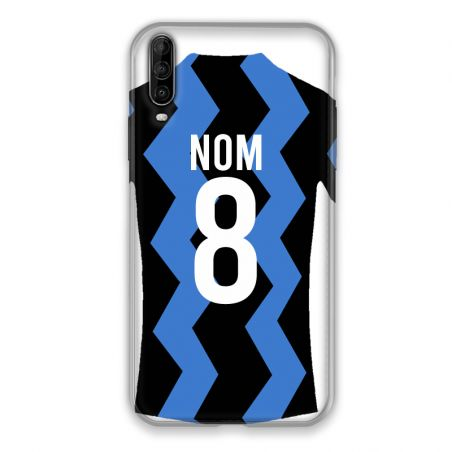 Coque Pour Wiko View 4 Personnalisee Maillot Football FC Inter Milan