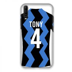 Coque Pour Wiko View 4 Lite Personnalisee Maillot Football FC Inter Milan