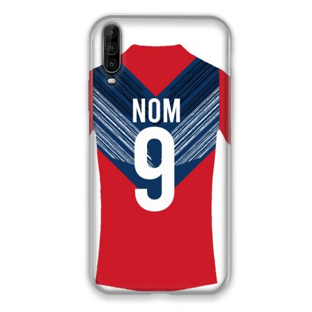 Coque Pour Wiko View 4 Lite Personnalisee Maillot Football LOSC Lille