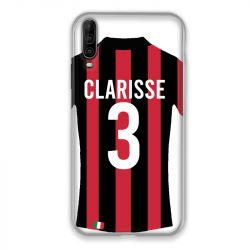 Coque Pour Wiko View 4 Lite Personnalisee Maillot Football Milan AC