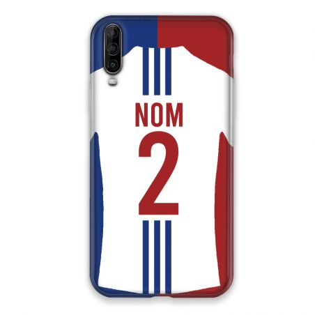 Coque Pour Wiko View 4 Personnalisee Maillot Football Olympique Lyonnais Domicile