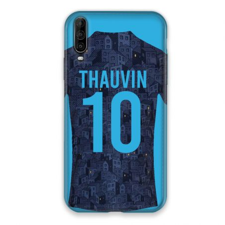 Coque Pour Wiko View 4 Personnalisee Maillot Football Olympique Marseille Exterieur