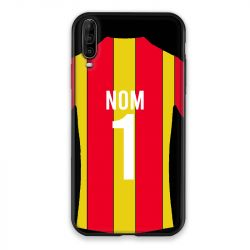 Coque Pour Wiko View 4 Lite Personnalisee Maillot Football RC Lens