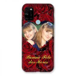 Coque Pour Wiko View 5 Personnalisee Fete Des Meres Roses Rouges