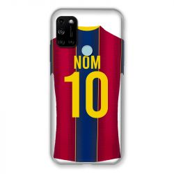 Coque Pour Wiko View 5 Personnalisee Maillot Football FC Barcelone