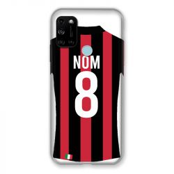 Coque Pour Wiko View 5 Personnalisee Maillot Football Milan AC