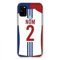 Coque Pour Wiko View 5 Personnalisee Maillot Football Olympique Lyonnais Domicile