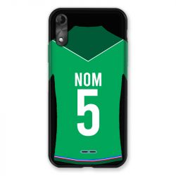 Coque Pour Wiko Y51 Personnalisee Maillot Football AS Saint Etienne
