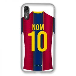 Coque Pour Wiko Y51 Personnalisee Maillot Football FC Barcelone