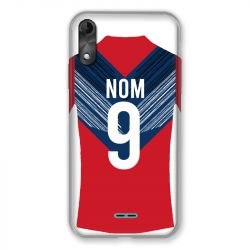 Coque Pour Wiko Y51 Personnalisee Maillot Football LOSC Lille