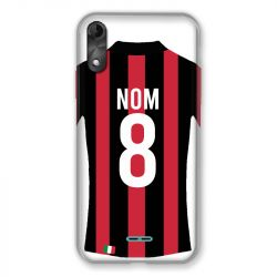 Coque Pour Wiko Y51 Personnalisee Maillot Football Milan AC