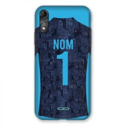 Coque Pour Wiko Y51 Personnalisee Maillot Football Olympique Marseille Exterieur