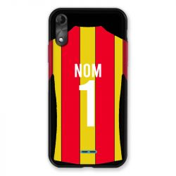 Coque Pour Wiko Y51 Personnalisee Maillot Football RC Lens