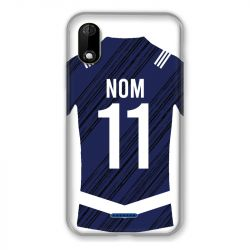 Coque Pour Wiko Y60 Personnalisee Maillot Footbal Girondins Bordeaux