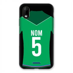 Coque Pour Wiko Y60 Personnalisee Maillot Football AS Saint Etienne
