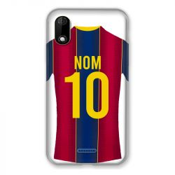 Coque Pour Wiko Y60 Personnalisee Maillot Football FC Barcelone