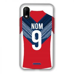 Coque Pour Wiko Y60 Personnalisee Maillot Football LOSC Lille