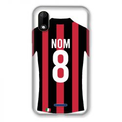Coque Pour Wiko Y60 Personnalisee Maillot Football Milan AC