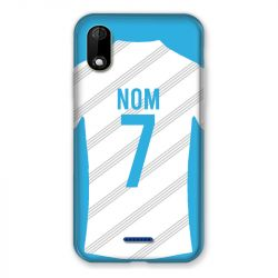 Coque Pour Wiko Y60 Personnalisee Maillot Football Olympique Marseille Domicile