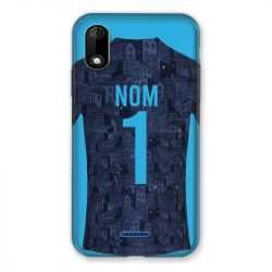 Coque Pour Wiko Y60 Personnalisee Maillot Football Olympique Marseille Exterieur