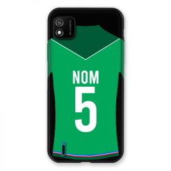 Coque Pour Wiko Y62 Personnalisee Maillot Football AS Saint Etienne